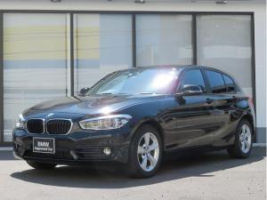 BMW 1シリーズ 118i スポーツ コンフォートPKG LEDヘッドライト 16AW パーキングサポートPKG リアPDC 純正ナビ リアビューカメラ レーンディパーチャーウォーニング クルーズコントロール 認定中古車