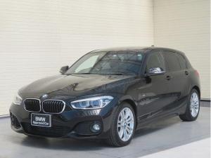 BMW 1シリーズ 118i Mスポーツ コンフォートPKG LEDライト パーキングサポートPKG PDC 純正ナビ フルセグ バックカメラ 純正ETC レーンディパーチャーウォーニング クルコン 認定中古車
