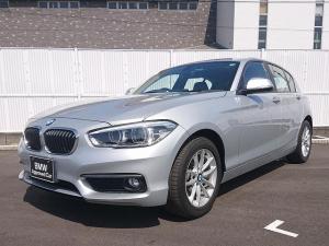 BMW 1シリーズ 118i 社外黒革 プラスPKG LEDライト パーキングサポートPKG PDC 純正ナビ Bカメラ 純正ETC 認定中古車