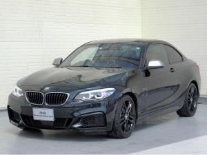 BMW 2シリーズ M240iクーペ LEDライト 18AW パーキングサポートPKG PDC スマートキー 赤革 純正ナビ Bカメラ 純正ETC アクティブクルーズコントロール レーンディパーチャーウォーニング 認定中古車