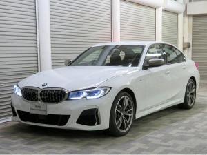 BMW 3シリーズ M340i xDrive パーキングアシストプラス レーザーライト 19AW 黒革 純正ナビ フルセグ ヘッドアップディスプレイ ハーマンカードンサラウンドシステム アクティブクルーズコントロール 認定中古車