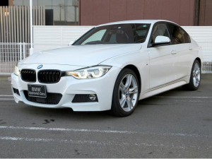 BMW 3シリーズ 320d Mスポーツ MS LEDヘッドライト 18AW リアPDC コンフォートアクセス 純正ナビ iDriveナビ リアビューカメラ 純正ETC アクティブ クルーズ コントロール ストップ ゴー 車線逸脱 認定中古車