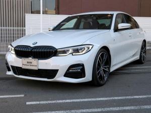 BMW 3シリーズ 330i Mスポーツ 19AW PDC コンフォートアクセス レザーシート ブラックレザー 純正ナビ iDriveナビ リアビューカメラ アクティブクルーズコントロール ストップ ゴー レーンチェンジ 車線逸脱 認定中古車