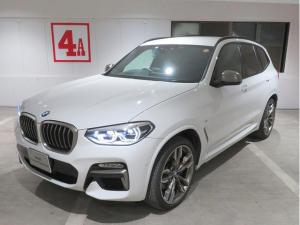 BMW X3 M40d イノベーションPKG LEDライト 21AW オートトランク 茶革 マルチメーター 純正ナビ フルセグ リアシートアジャストメント ヘッドアップディスプレイ アクティブクルーズコントロール 認定中古車