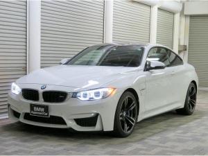 BMW M4 M4クーペ LEDヘッドライト 19AW コンフォートアクセス レザーシート ブラックレザー 純正ナビ iDriveナビ リアビューカメラ HUD 純正ETC レーンチェンジ クルーズコントロール 認定中古車