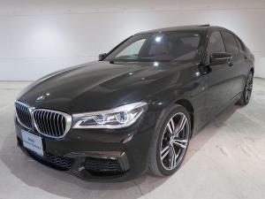 BMW 7シリーズ 740i Mスポーツ レーザーライト 20AW サンルーフ ガラスSR ソフトクローズドア オートトランク コンフォートアクセス 純正ナビ リアモニター トップ リアビューカメラ HUD 純正ETC Aクルコン 認定中古車