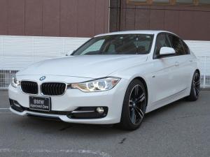 BMW 3シリーズ 320d スポーツ キセノン リアPDC コンフォートアクセス 純正ナビ iDriveナビ 地デジ フルセグ リアビューカメラ 純正ETC レーン ディパーチャー ウォーニング クルーズコントロール 認定中古車