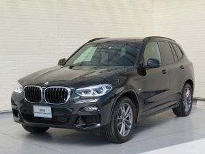 BMW X3 xDrive 20d Mスポーツ LEDヘッドライト 19AW PDC オートトランク コンフォートアクセス シートヒーター 純正ナビ iDriveナビ フルセグ トップ リアビューカメラ HUD 純正ETC Aクルコン 認定中古車