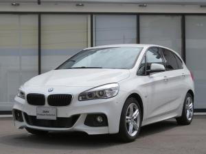 BMW 2シリーズ 218dアクティブツアラー Mスポーツ コンフォートPKG LEDヘッドライト 17AW パーキングサポートPKG PDC オートトランク コンフォートアクセス シートヒーター iDriveナビ リアビューカメラ 純正ETC 認定中古車