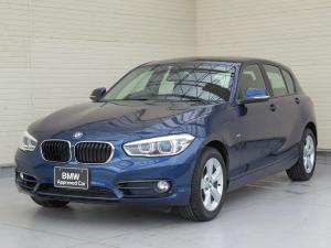 BMW 1シリーズ 118i スポーツ LEDヘッドライト 16AW パーキングサポートPKG リアPDC 純正ナビ iDriveナビ リアビューカメラ 純正ETC レーン ディパーチャー ウォーニング クルーズ コントロール 認定中古車