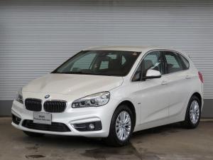 BMW 2シリーズ 218d xDriveアクティブツアラーラグジュアリ コンフォートPKG LEDヘッドライト 16AW オートトランク コンフォートアクセス ブラウンレザー 純正ナビ リアビューカメラ HUD 純正ETC アクティブ クルーズ コントロール 認定中古車