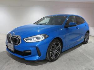 BMW 1シリーズ 118d Mスポーツ コンフォートPKG LEDヘッドライト 18AW PDC コンフォートアクセス ナビパッケージ 純正ナビ iDriveナビ リアビューカメラ 純正ETC アクティブ クルーズ コントロール 認定中古車