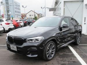 BMW X4 xDrive 20d Mスポーツ LEDライト 20AW パノラマサンルーフ オートトランク コンフォートアクセス 黒革  純正ナビ フルセグ アクティブクルーズコントロール ライブコックピット 認定中古車