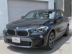 BMW X2 sDrive 18i MスポーツX コンフォートPKG LEDヘッドライト 19AW オートトランク コンフォートアクセス シートヒーター 純正ナビ リアビューカメラ HUD 純正ETC アクティブ クルーズ コントロール 認定中古車