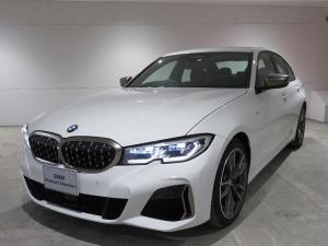 BMW 3シリーズ M340i xDrive レーザーライト 19AW PDC 黒革 パーキングアシストプラス 純正ナビ iDriveナビ 地デジ フルセグ HUD 純正ETC アクティブ クルーズ コントロール レーンチェンジ 認定中古車