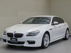 BMW 6シリーズ 640iグランクーペ Mスポーツ LEDヘッドライト 19AW コンフォートアクセス レザーシート ブラウンレザー マルチメーター 純正ナビ idriveナビ リアビューカメラ HUD アクティブ クルーズ コントロール 認定中古車