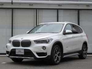 BMW X1 sDrive 18i xライン HiLine コンフォートPKG LEDヘッドライト 18AW オートトランク コンフォートアクセス ブラックレザー 純正ナビ iDriveナビ リアビューカメラ 純正ETC 認定中古車