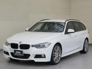BMW 3シリーズ 320dツーリング Mスポーツ キセノン 19AW リアPDC オートトランク レザーシート ブラックレザー 純正ナビ iDriveナビ リアビューカメラ 純正ETC アクティブ クルーズ コントロール 車線逸脱 認定中古車