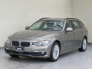BMW 3シリーズ 320iツーリング ラグジュアリー LEDヘッドライト 17AW リアPDC オートトランク コンフォートアクセス レザーシート ブラックレザー 純正ナビ リアビューカメラ 純正ETC アクティブ クルーズ コントロール 認定中古車