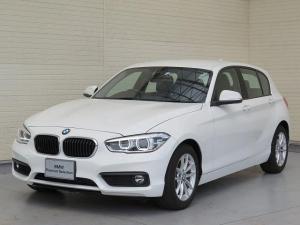 BMW 1シリーズ 118i LEDヘッドライト 16AW 純正ナビ iDriveナビ 純正ETC レーン・ディパーチャー・ウォーニング クルーズコントロール 認定中古車
