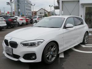 BMW 1シリーズ 118d Mスポーツ MS コンフォートPKG LEDヘッドライト パーキンギサポートPKG コンフォートアクセス シートヒーター 純正ナビ iDriveナビ リアビューカメラ 純正ETC Aクルコン 車線逸脱 認定中古車