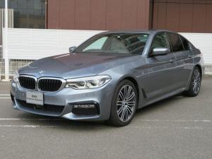 BMW 5シリーズ 523i Mスポーツ ハイラインパッケージ アイボリーホワイトレザー ジェスチャーコントロール LEDヘッドライト 19AW オートトランク マルチメーター トップ リアビューカメラ HUD 純正ETC Aクルコン レーンチェンジ 認定中古車