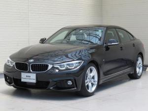 BMW 4シリーズ 420iグランクーペ Mスポーツ LEDヘッドライト 18AW PDC オートトランク コンフォートアクセス シートヒーター マルチメーター 純正ナビ リアビューカメラ アクティブ クルーズ コントロール レーンチェンジ 認定中古車
