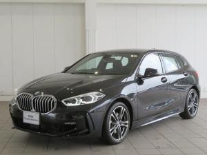 BMW 1シリーズ 118i Mスポーツ 認定中古車 LEDヘッドライト 18AW PDC コンフォートアクセス ナビパッケージ iDriveナビ リアビューカメラ 純正ETC レーンチェンジ&ディパーチャーウォーニング