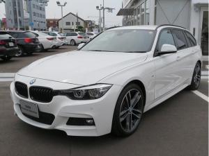 BMW 3シリーズ 318iツーリング Mスポーツ エディションシャドー LEDヘッドライト 19AW PDC オートトランク コンフォートアクセス レザーシート ブラックレザー マルチメーター 純正ナビ リアビューカメラ 純正ETC レーンチェンジ クルコン 認定中古車