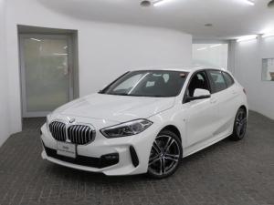 BMW 1シリーズ 118i Mスポーツ MS コンフォートPKG LEDヘッドライト 18AW オートトランク コンフォートアクセス ナビパッケージ 純正ナビ リアビューカメラ 純正ETC Aクルコン レーンチェンジ 車線逸脱 認定中古車