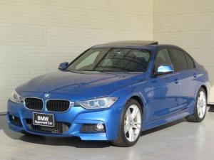 BMW 3シリーズ 320i Mスポーツ MS キセノン 18AW サンルーフ ガラスSR リアPDC コンフォートアクセス 純正ナビ iDriveナビ リアビューカメラ 純正ETC アクティブ クルーズ コントロール 車線逸脱 認定中古車