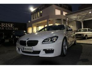 BMW 6シリーズ 640iグランクーペ MスポーツPKG サンルーフ アイボリーレザー シートヒータークーラー メモリー付Pシート ACC インテリジェントセーフティ LDW LEDヘッドライト ナビDTV
