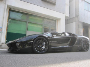 ランボルギーニ アヴェンタドール LP700-4ロードスター D車 パワクラマフラー