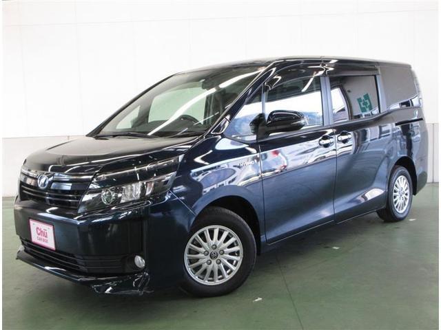 長野トヨタの安心UーCar【T-Value】 ヴォクシーHV V フルセグナビ・バックモニター・LEDランプ