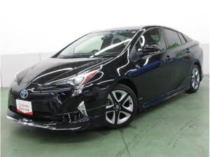 トヨタ プリウス Sツーリングセレクション SDナビフルセグバックモニター LEDライト シートヒーター フルエアロ 合皮シート