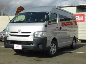 トヨタ ハイエースコミューター GL 4WD 1年間走行無制限保証