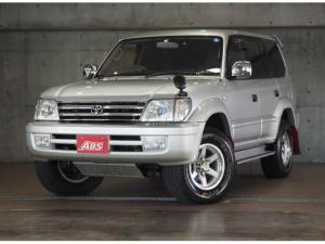 トヨタ ランドクルーザープラド TX ユーザー買取 フロントアンバーカバー 社外CDオーディオ 社外16インチAW ETC