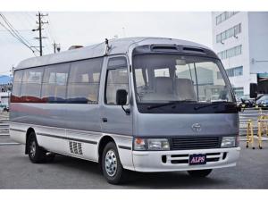 トヨタ コースター ロングSラウンジターボ バス スーパーラウンジ ユーザー買取 5速MT ディーゼル オートスライド 18人乗り