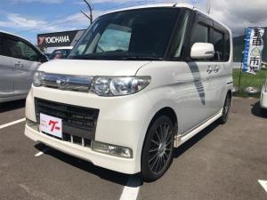 ダイハツ タント カスタムRS 4WD ターボ 電動スライド ナビTV