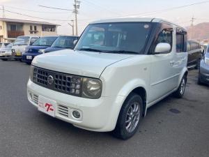 日産 キューブ SX 70th-II 4WD TV ナビ TV スマートキー クリーンイオン