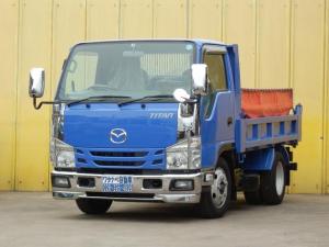 マツダ タイタントラック 2t 全低床 強化ダンプ コボレーン 三方開 新免許対応