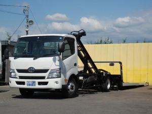 トヨタ ダイナトラック 3t 極東フラトップZero フルフラット ローダー 積載車