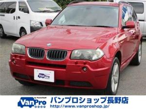 BMW X3 2.5i 4WDスポーツパッケージ 純正AW18インチ