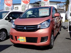 三菱 eKワゴン E キ-レス シートヒータ CD 電動格納ミラー CVT