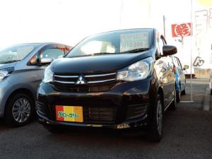 三菱 eKワゴン E シートヒーター キーレスエントリー ABS ベンチシート