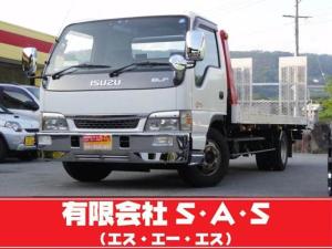 いすゞ エルフトラック 積載車 ローダー 5.2ターボ エレクトロDi 2t積