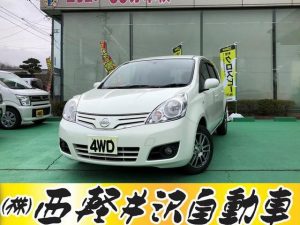 i日産 ノート 15G FOUR 4WD タイヤ新品