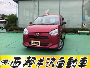 ダイハツ ミライース L 4WD キーレス CD アイドリングストップ