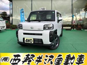 ダイハツ タフト Gターボ 4WD スマートアシストIII アイドリングストップ シートヒーター