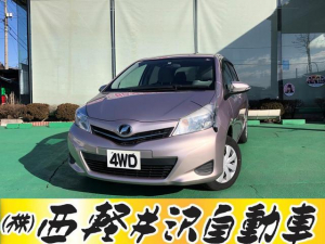 トヨタ ヴィッツ ジュエラ 4WD キーレス CD